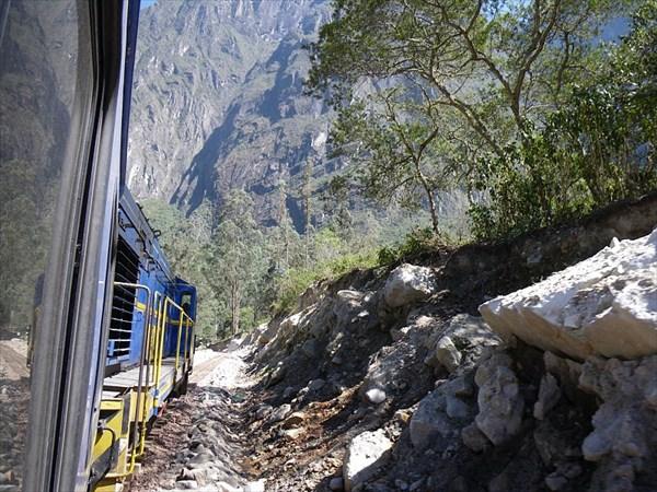 Поезд в Мачу Пикчу