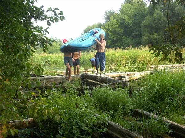 река Сев у Зеленина хутора