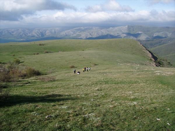 на фото: Вот мы и на плато