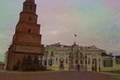 Башня Сююмбике и президентский дворец