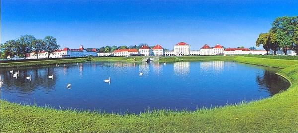 010-Нимфенбург,открытка