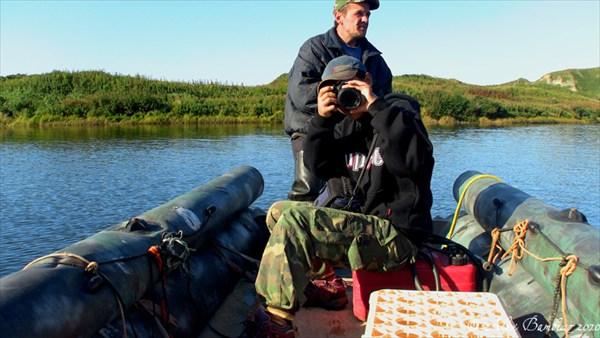 На реке Славной