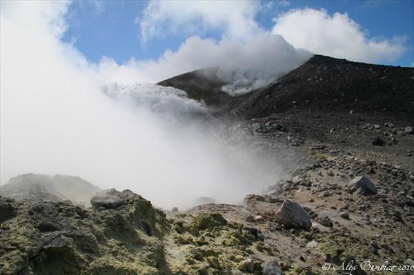 Вершина вулкана Кудрявого