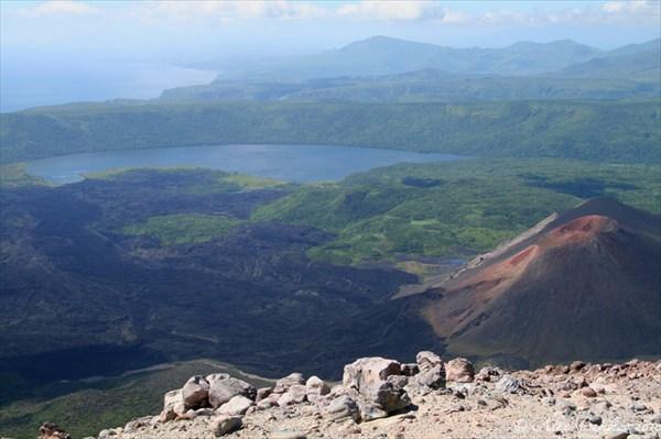 на фото: Панорама с вершины Кудрявого