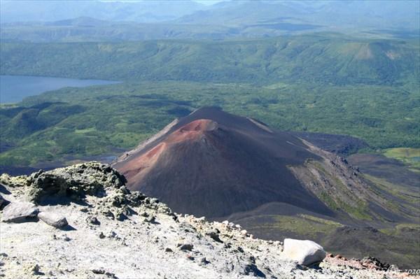 Панорама с вершины Кудрявого