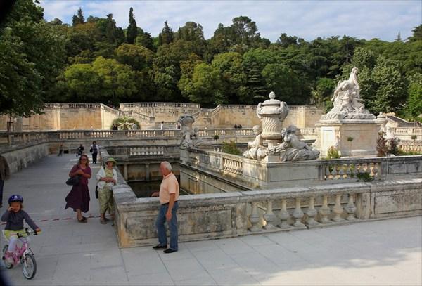 В саду фонтанов, г.Ним