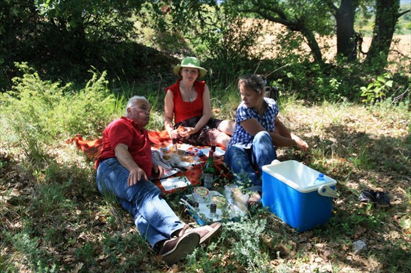 Пикник у виноградников Прованса