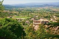 Вид из Боннекса на замок Ла Коста