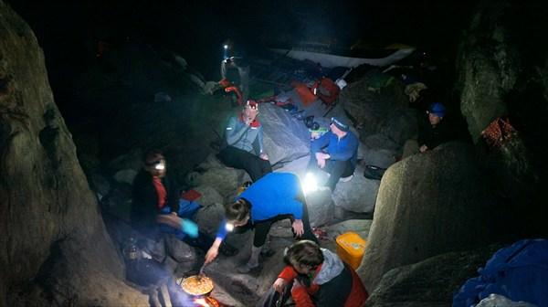 Лагерь на камнях