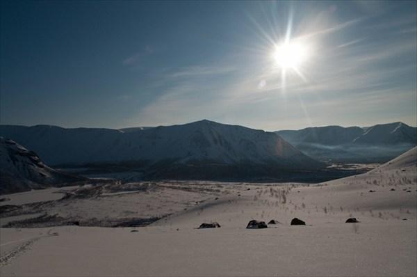 Вид с перевала Географов