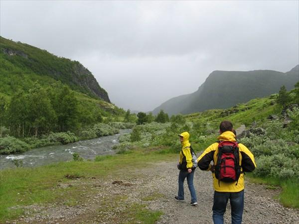 Начало дороги из Myrdal