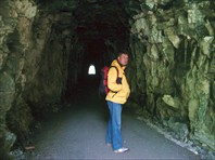 И даже тоннель!