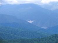 Саяно-Шушенская ГЭС с 2318 метров