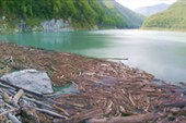 Сток озера Амткял