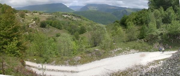 трудная дорога на озеро Амткял