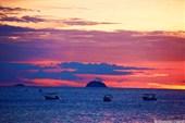 Закат на острове Тиоман
