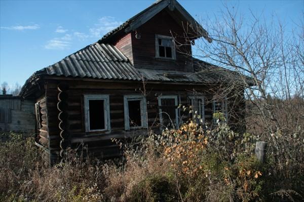 Заброшенный дом в Опарихе