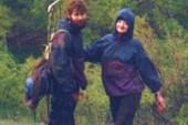 Костик и Аня возвращаются в лагерь