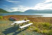 Площадка для отдыха в Норвегии