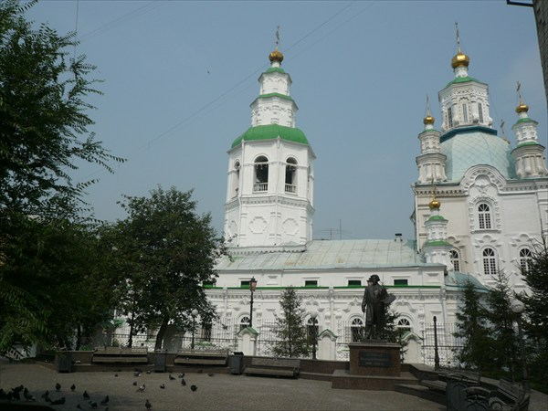 Красноярск, памятник Сурикова