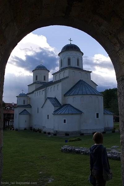 Монастырь Милешева. Соборный храм Вознесения