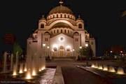 Ночной вид на Свети Савву