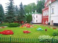 Сад в монастыре