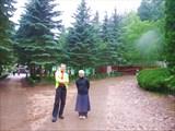 Саша и Алена в юбкоштанах