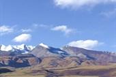 Тибет из окна джипа