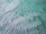 Под ледяным куполом грота