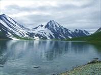 Июльские льды озера Хадыта. Автор: Олег Скрипкин