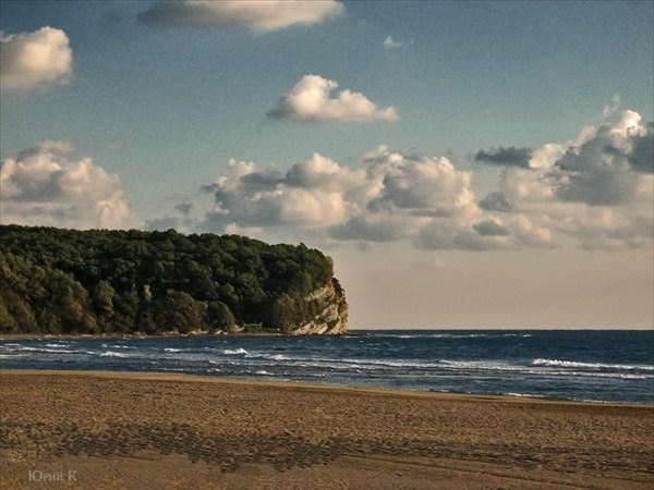 Мыс Влюбленных.Черное море.