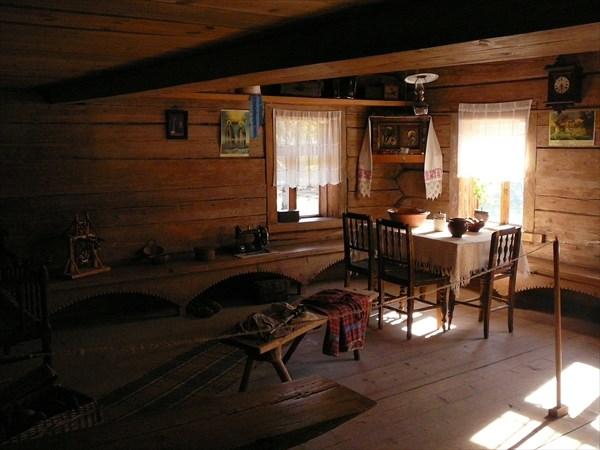 Музей Витославицы. Внутри