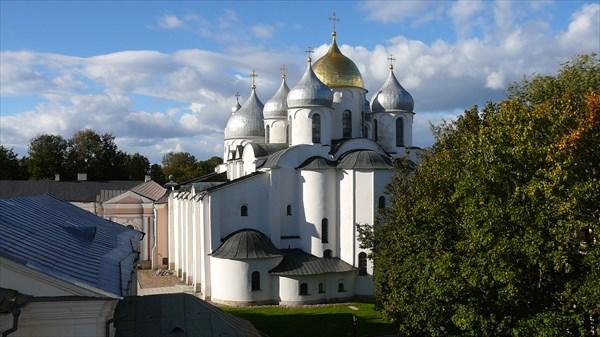 Кремль. Вид на собор со звонницы
