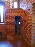 В музее Грановитая палата. Какой-то проход