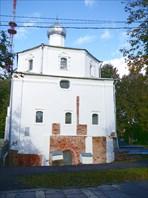 Ярославово дворище. Церковь Георгия на Торгу