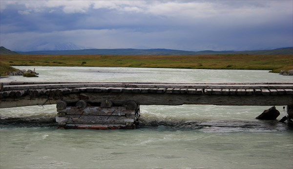 Белые воды реки Ак- Алаха.
