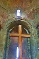 Поклонный крест в храме Джвари