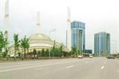 Футуристическая мечеть им. Аймани Кадыровой