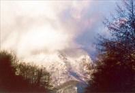 Пещера-источник Глубокий Яр. - январь 2002 г..