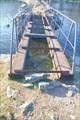 Сам мост в таком состоянии. Пройти можно