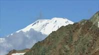 Вид с перевала Койавган-ауш на Эльбрус