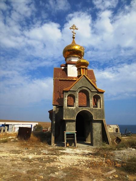 Часовня святого Николая Урочище Атлеш, Тарханкут