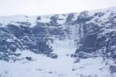ледопады в цирке Географов