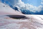 ледник чуток подтаял