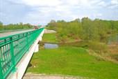 Мост рез реку Сев.