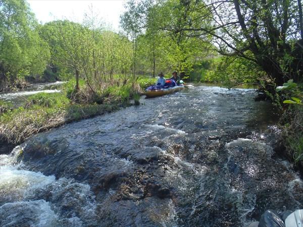 Пог на реке Сев.