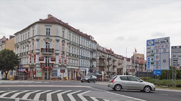 Франкфурт на Одере. Польская половина.