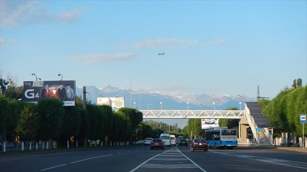 Выезд из Аэропорта Алматы