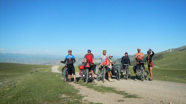 Перевал Джаан Булак и мы с поляками